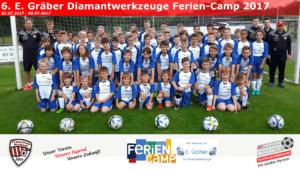 6. E. Gräber Diamantwerkzeuge Ferien-Camp 2017 – Mit besonderem Highlight!!!