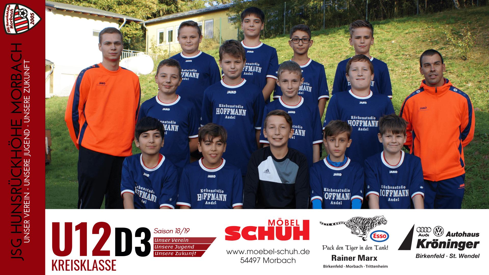 U12 D3: JSG Hunsrückhöhe Morbach – JSG Wittlich 0-4 (0-0)