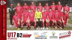U17 B2: JSG Untere Salm Dörbach – JFV Hunsrückhöhe Morbach 1-0 (1-0)