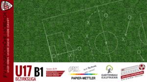 U17 B1: JSG Mittelmoseltal Platten – JFV Hunsrückhöhe Morbach 2-4 (0-1)