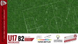 U17 B2: JFV Hunsrückhöhe Morbach – JFV Vulkaneifel II 4-0 (3-0)