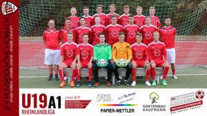 U19 A1: Vorbericht ~ JFV Hunsrückhöhe Morbach – Ahrweiler BC ~ Sa., 08.09.18 17:00 Uhr