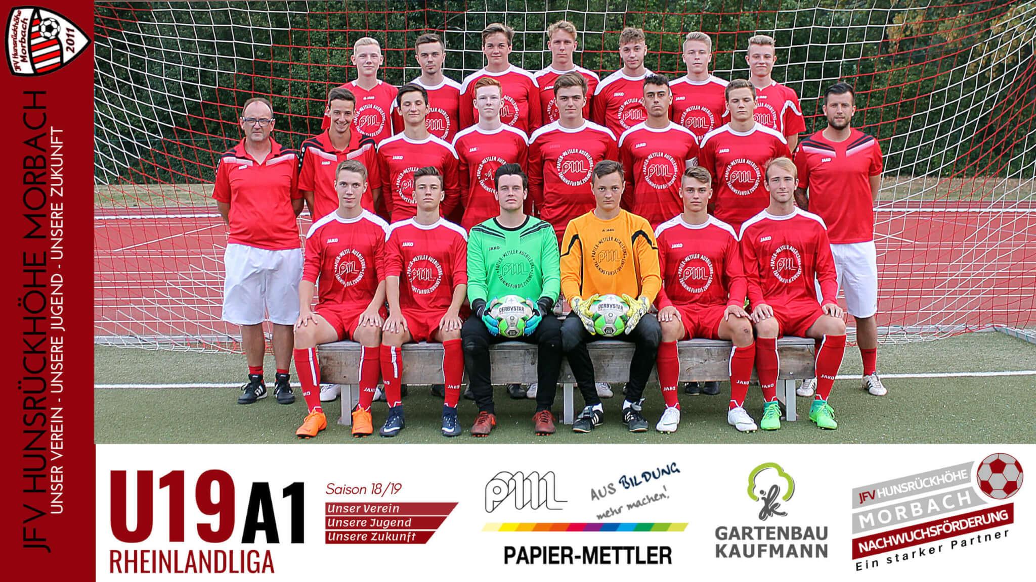 U19 A1: JFV Hunsrückhöhe Morbach – FSV Trier-Tarforst 1-1 (0-1)