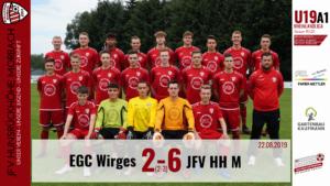 U19 A1: EGC Wirges – JFV Hunsrückhöhe Morbach 2-6 (2-3)