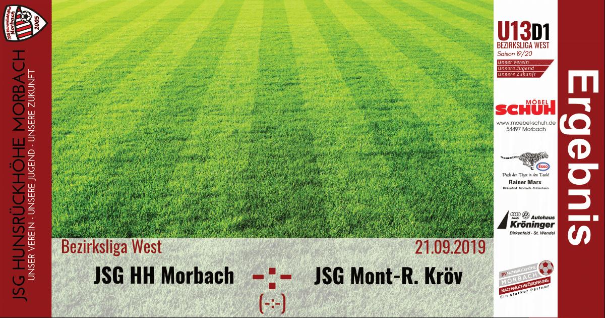 You are currently viewing U13 D1: Vorbericht ~ JSG Hunsrückhöhe Morbach – JSG Mont-Royal Kröv ~ Sa., 21.09.2019 11:00 Uhr