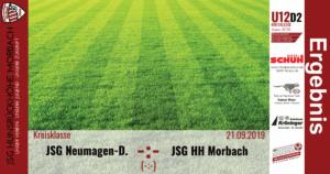 U12 D2: Vorbericht ~ JSG Neumagen-Dhron – JSG Hunsrückhöhe Morbach ~ Sa., 21.09.2019 14:00 Uhr