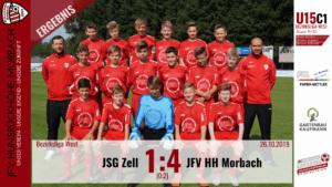 U15 C1: JSG Zell – JFV Hunsrückhöhe Morbach 1:4 (0:2)