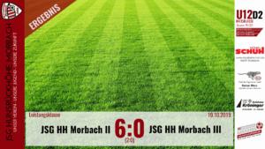 U12 D2: JSG Hunsrückhöhe Morbach II – JSG Hunsrückhöhe Morbach III 6:0 (2:0)