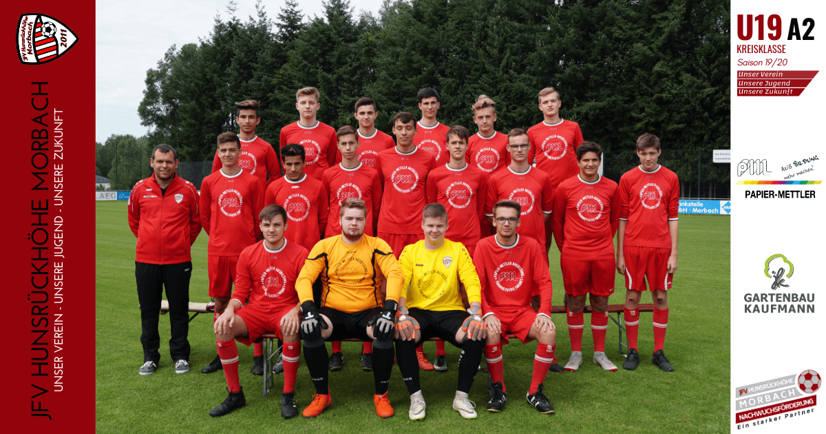 U19 A2: DJK St. Matthias Trier – JFV Hunsrückhöhe Morbach 2:6 (2:3)