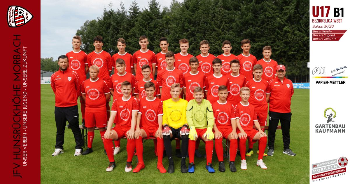 U17 B1: JFV Hunsrückhöhe Morbach – FC Bitburg 1:1 (0:1)