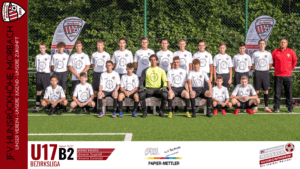Read more about the article U17 B2: JFV HH Morbach – JSG Wittlicher Tal 3-0 (3-0)